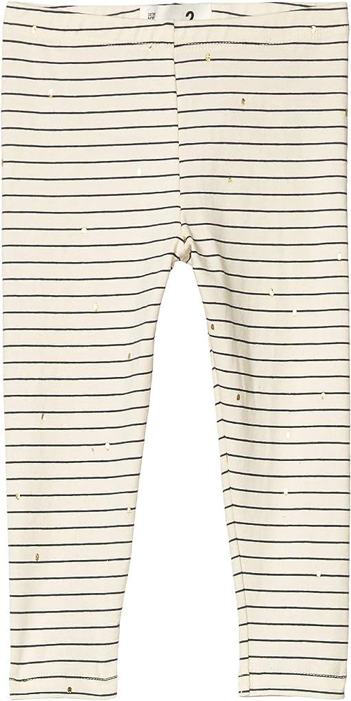 Dark Vanilla Stripe/Gold Spot