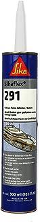 Sika Sikaflex 291 Marine Adhesive Sealant 310ml Black Wood Metal Paint Primers