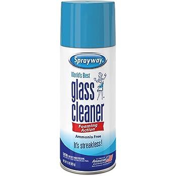 Sprayway SW053R Ammonia-FreeGlass Cleaner,Foaming Action -Streakless Shine,19 Oz