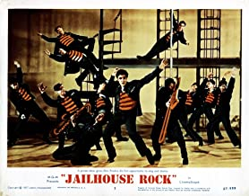 Posterazzi EVCMSDJAROEC004H Jailhouse Rock Elvis Presley 1957 Movie Poster Masterprint 14 x 11