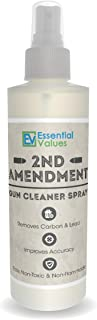 Essential Values Gun Cleaner Spray, (8oz) Best Used for Carbon, Lead & Copper Removal in Handguns, Rifles & Shotguns (Comparable to Hoppe's Elite & M-Pro 7 Sprays)