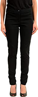 Moncler Women's Black Stretch Skinny Casual Pants US 6 IT 42