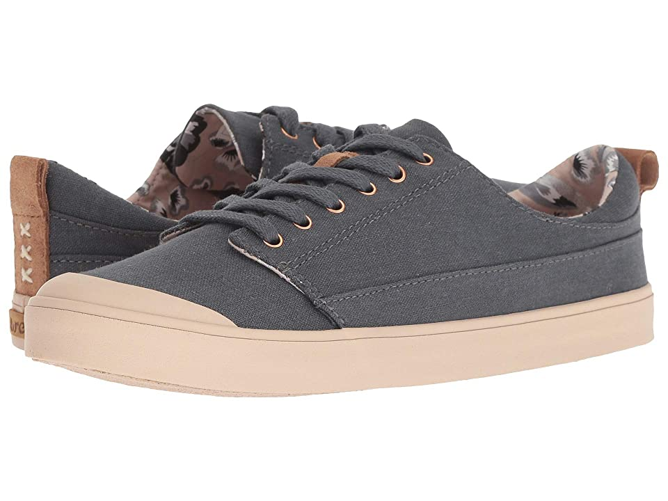 Reef Walled Low (Charcoal/Tan) Women