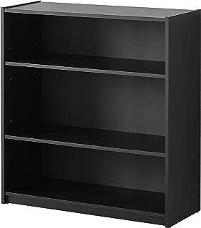 Mainstays 3-Shelf Bookcase, Multiple Colors Black