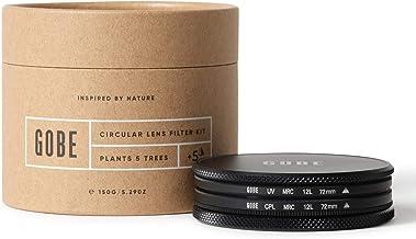 Gobe - Kit de Filtros para Objetivo 72 mm UV + Polarizado Circular (CPL) (1Peak)