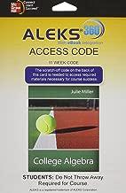 ALEKS 360 Access Card (11 weeks) for College Algebra