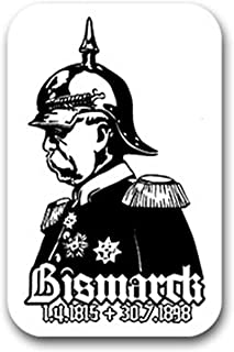 Suchergebnis Auf Für Aufkleber Bismarck Aufkleber Merchandiseprodukte Auto Motorrad