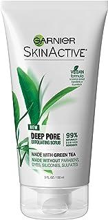 Garnier SkinActive Exfoliating Face Scrub with Green Tea, Oily Skin, 5 fl. oz.