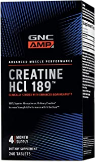 Sponsored Ad - GNC AMP HCl 189, 240 Tablets