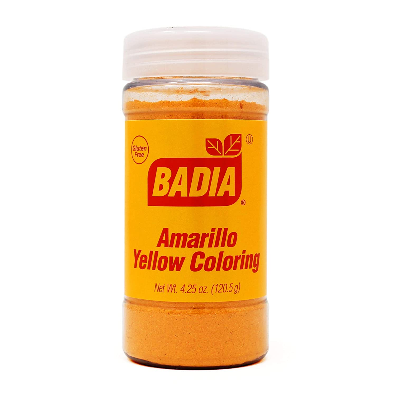 4.25 oz Bottle Yellow Coloring Food Powder Amarillo Color sazon Kosher
