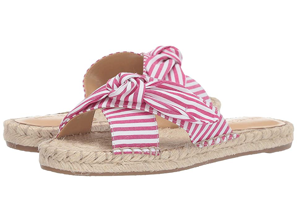 Nine West Brielle Espadrille Flat Sandal (Dark Pink) Women