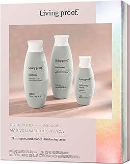 Living Proof FULL Trio Holiday (Full Shampoo 236ml, Full Conditoner 236ml, Full Thickening Cream 109ml)