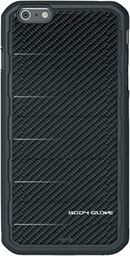 new arrival Body Glove Rise sale Case high quality for iPhone 6 Plus - Retail Packaging - Black Carbon Fiber online