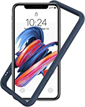 RhinoShield Ultra Protective Bumper Case for [ iPhone X/XS ] CrashGuard, Military Grade Drop Protection for Full Impact, Slim, Scratch Resistant, Dark Blue