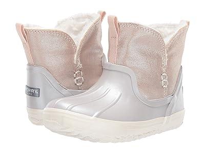 Sperry Kids Waypoint Boot (Toddler/Little Kid) (Blush/Silver) Girl