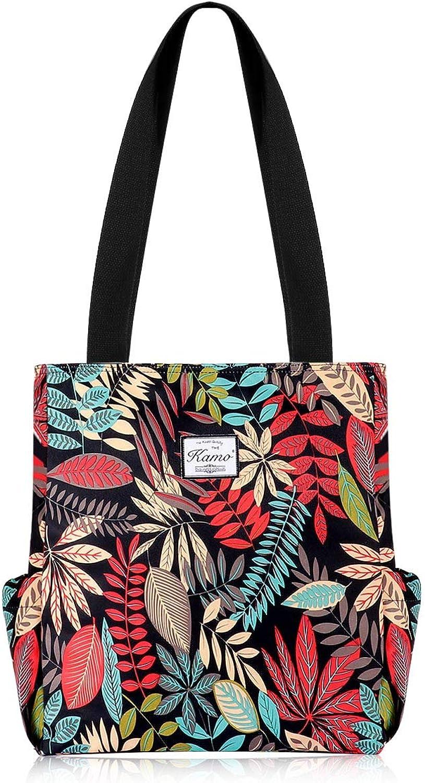 38a87f7ea Kamo Floral Tote Waterproof Lightweight Handbags Travel Shoulder Bag for  Hiking Gym Swimming Travel Beach Yoga Bag nvbuwb894-Sporting goods
