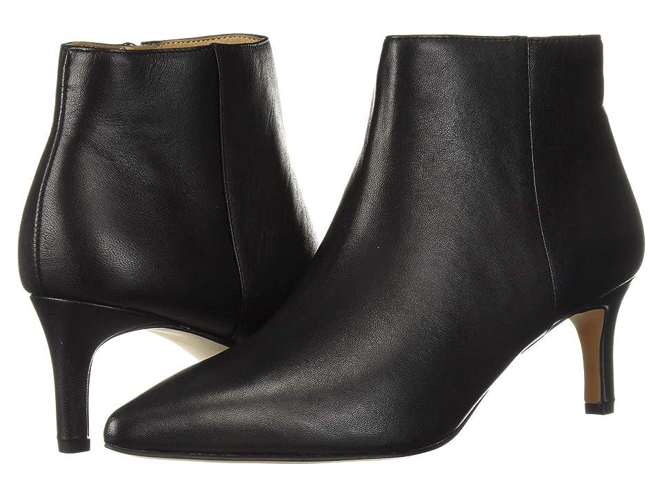 Franco Sarto Devon (Black Butter Nappa Leather) Women
