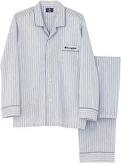 [チャンピオン] メンズパジャマ 綿100% 長袖長パンツ ブロード