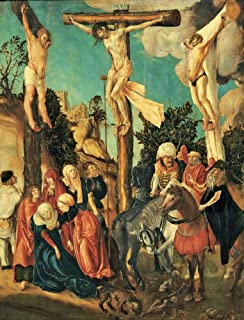 Cranach Lucas Cranach The Elder Crucifixion 1500-1501 16Th Century Panel Austria Wien Kunsthistorisches Museum (619601) Ev...