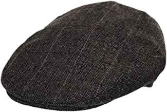 Jaxon Euston Herringbone Plaid Wool Blend Ivy Cap