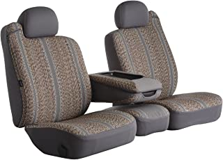 Fia TR49-1 GRAY Custom Fit Front Seat Cover Split Seat 40/20/40 - Saddle Blanket, (Gray)