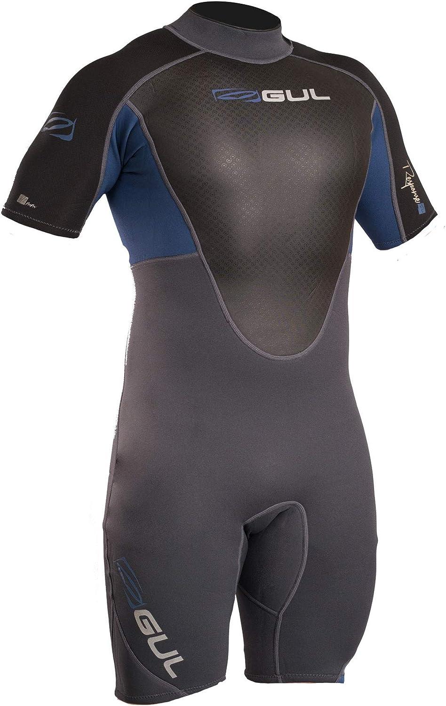 1888c7d9fa13 Gul 3 2MM Back Zip Shorty Wetsuit Wetsuit GraphiteEasy ...