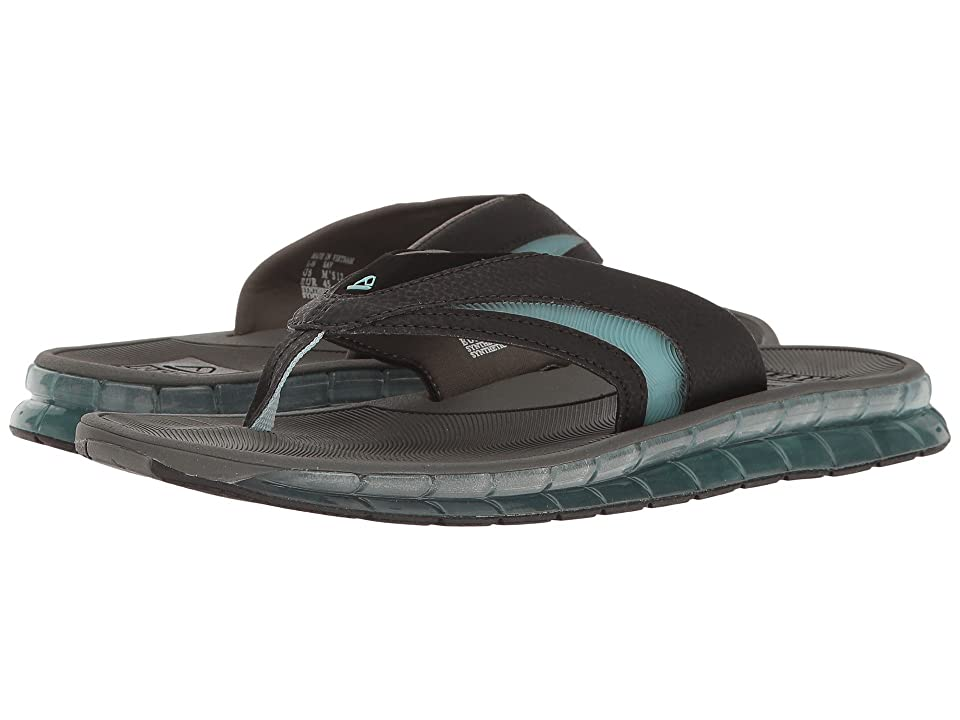 Reef Boster (Charcoal/Blue) Men