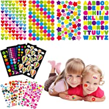 Yuccer Pegatinas para Niños, 1700 Piezas 36 Hojas Pegatinas de Recompensa Pegatinas Scrapbooking (36 Hojas)