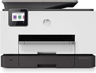 طابعة HP OfficeJet Pro 9023 All-in-One متعددة المهام للطباعة ونسخ ومسح وإرسال - اللون: أبيض [1MR70B]