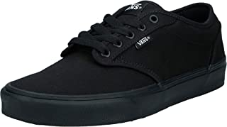 Vans Men's Atwood Trainers, Canvas Black Black, 8 UK