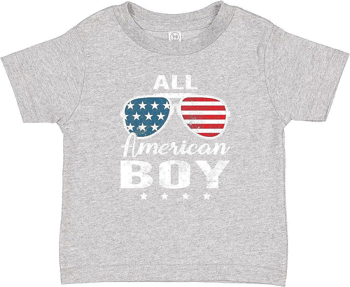 inktastic All Max 71% OFF American Boy T-Shirt USA shipfree Baby Parade