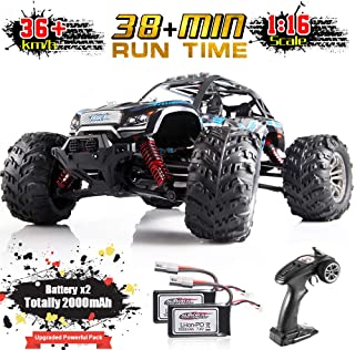 Soyee 1:16 RC Cars IPX4 Waterproof Interference-Free 2.4GHz 4WD Off Road 36KM/h Remote Control Monster Truck Dune Buggy Hobby RC Toys for Kids & Adults