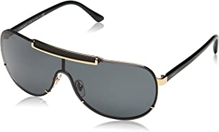 Versace Women's Greca Shield Sunglasses