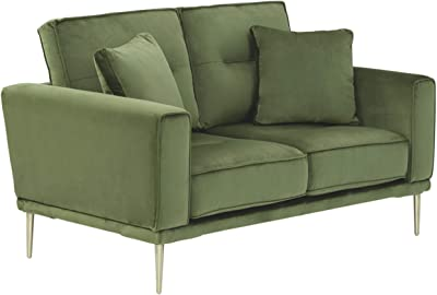 Signature Design by Ashley Macleary Loveseat, Moss