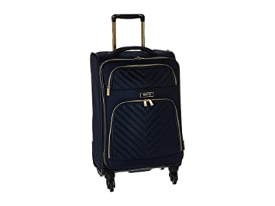 Kenneth Cole Reaction Chelsea 20 Quilted Expandable 4-Wheel Upright Carry On (Navy) Luggage