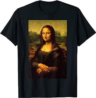 Mona Lisa Leonardo Da Vinci Art History Renaissance Art Tee