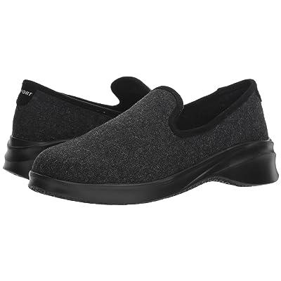 JBU Loon Wool Slip-On (Black) Women