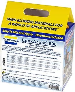 Smooth-On EpoxAcast 690 Clear Casting Epoxy Resin Trial Size