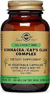 Solgar - Full Potency Echinacea/Cat's Claw Complex, 60 Vegetable Capsules