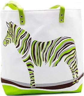 "Africa""s Legends Outback-Handtasche für Damen, Segeltuch, Reißverschluss, 22,9 x 25,4 x 43,2 cm"