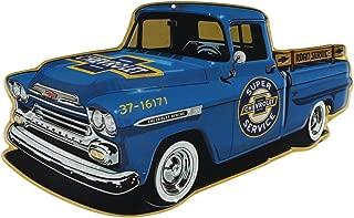 Open Road Brands Chevrolet Truck Embossed Tin Sign