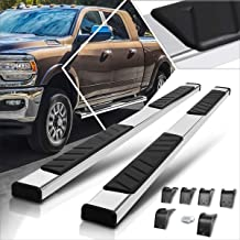"""For Dodge 09-20 Ram 1500 Crew Cab 3/"""" Black Stainless Steel Side Step Nerf Bars"""