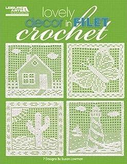 Lovely Decor in Filet Crochet