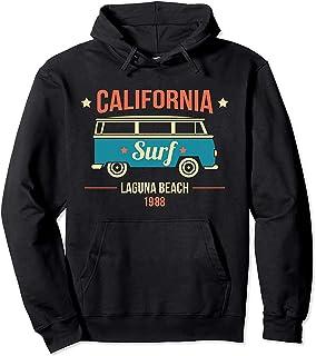 Hoodie Thick California Laguna Beach Surf Van 1988