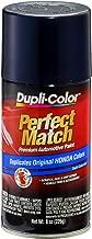Dupli-Color BHA0991 E7 Royal Blue Pearl Honda Perfect Match Automotive Paint - Aerosol, 8. Fluid_Ounces