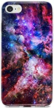 Obbii Case for iPhone 7/ iPhone 8 /iPhone 6/iPhone 6S Unique Outer Space Nebula Galaxy Design Matte Slim TPU Flexible Soft Silicone Protective Durable Cover Case Compatible with iPhone 7/8/6/6S