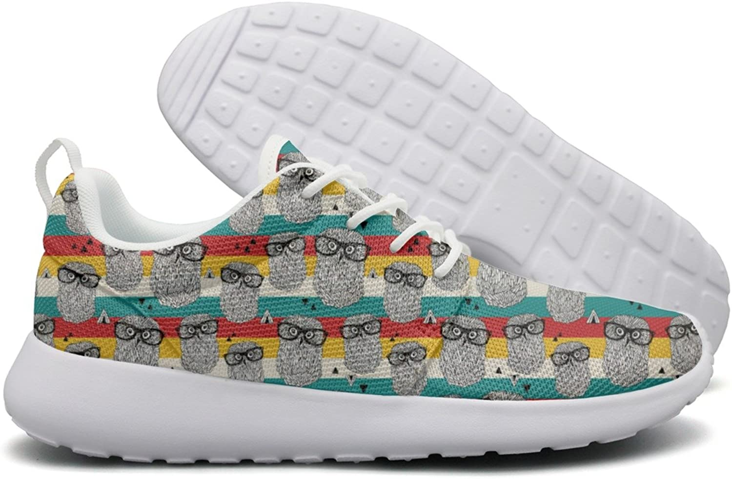 Owls On Disco Party Women's New Design Running shoes Climbing colorful