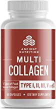 Multi Collagen Pills, Formulated by Dr. Josh Axe, Blend of Grass-Fed Beef, Chicken, Wild..