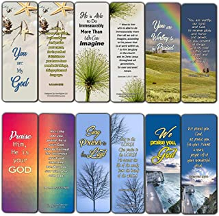 Scriptures Cards - Powerful Scriptures to Help You Worship God (30 Pack) - Handy Worship Bible Verses