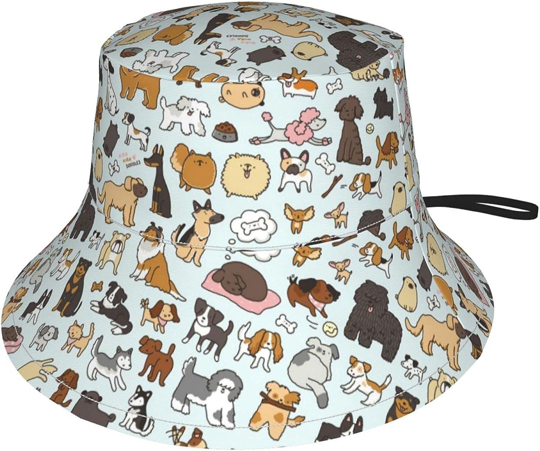 Jeezshop Bucket Trust Hat with Cute Cartoon Dog Different Pri in High quality Types
